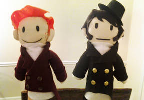 Pride and Prejudice Puppet Pals by DarcyBing