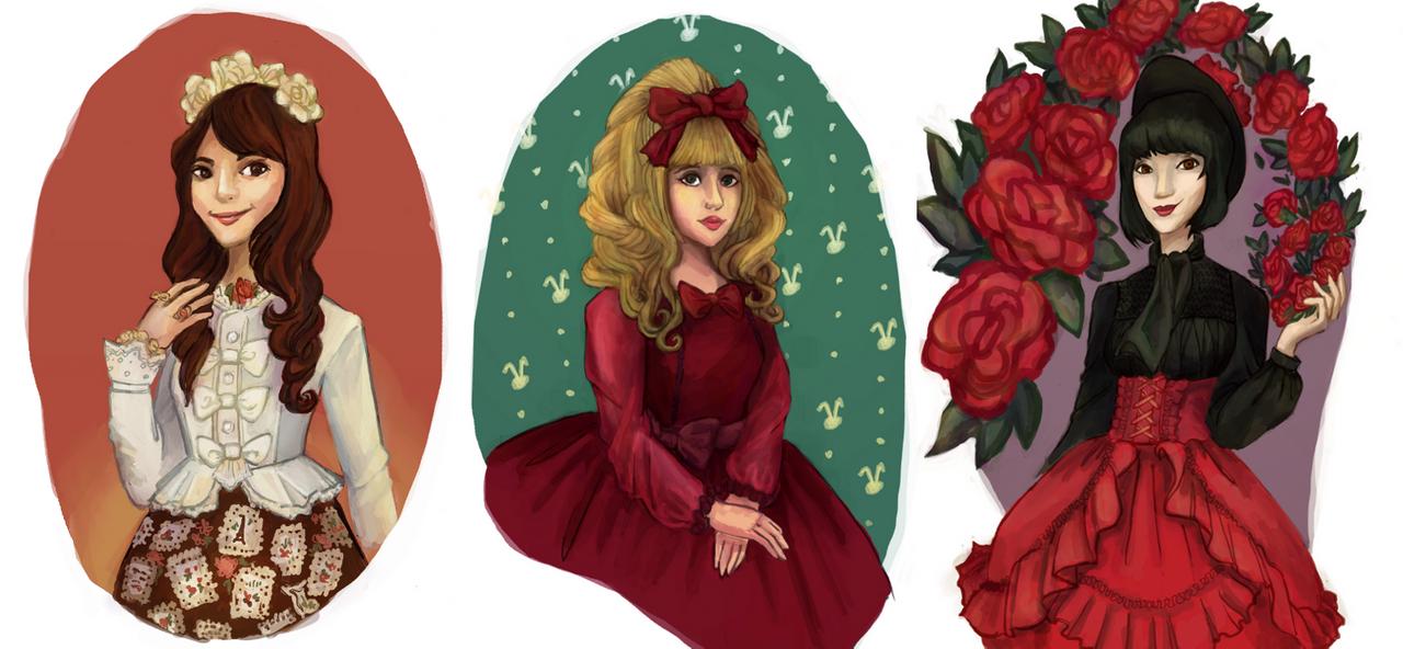 lolita triad by the-zilla
