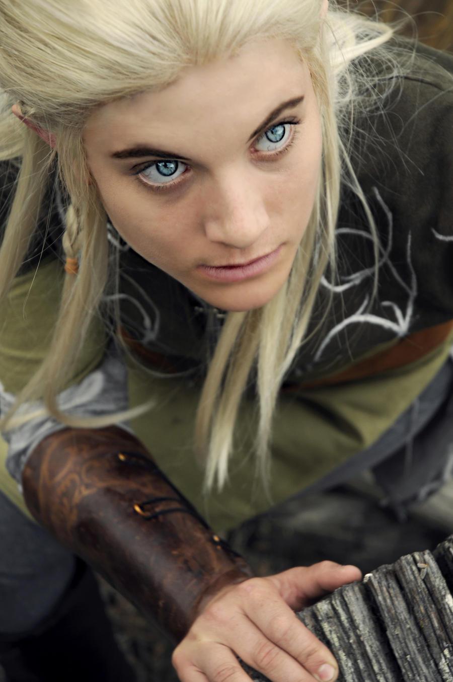 Elvish People Elf Eyes by TemaTime