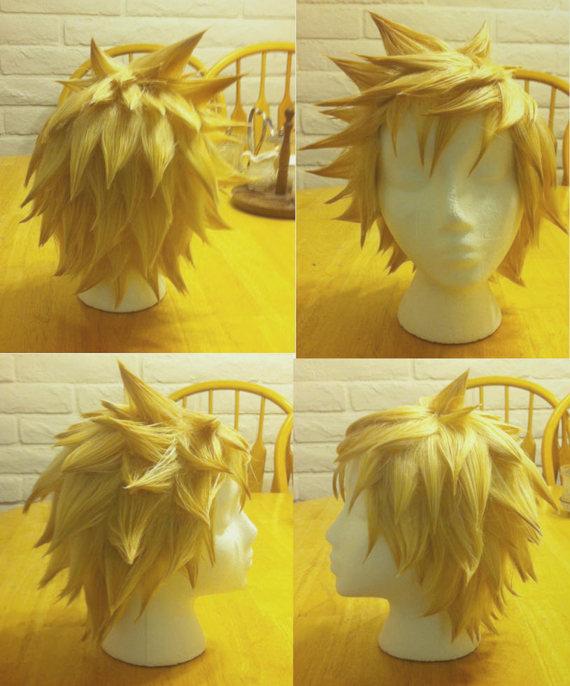 Roxas Wig Commission by TemaTime