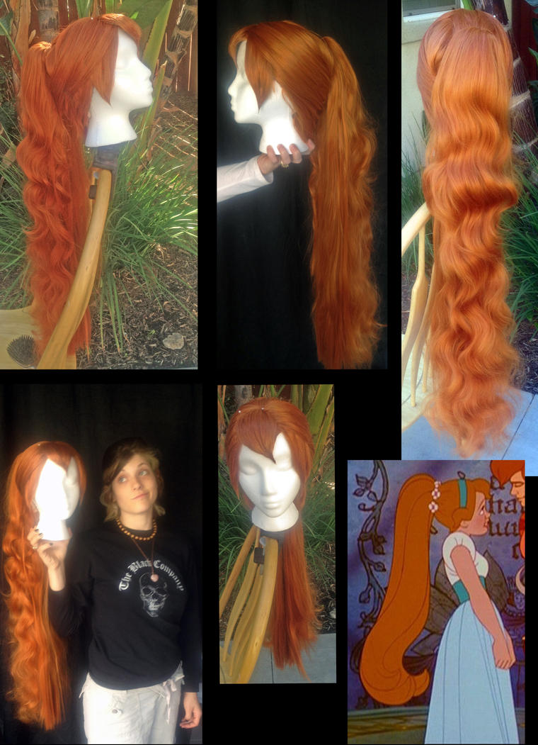 Thumbalina Don Bluth Wig commission by TemaTime
