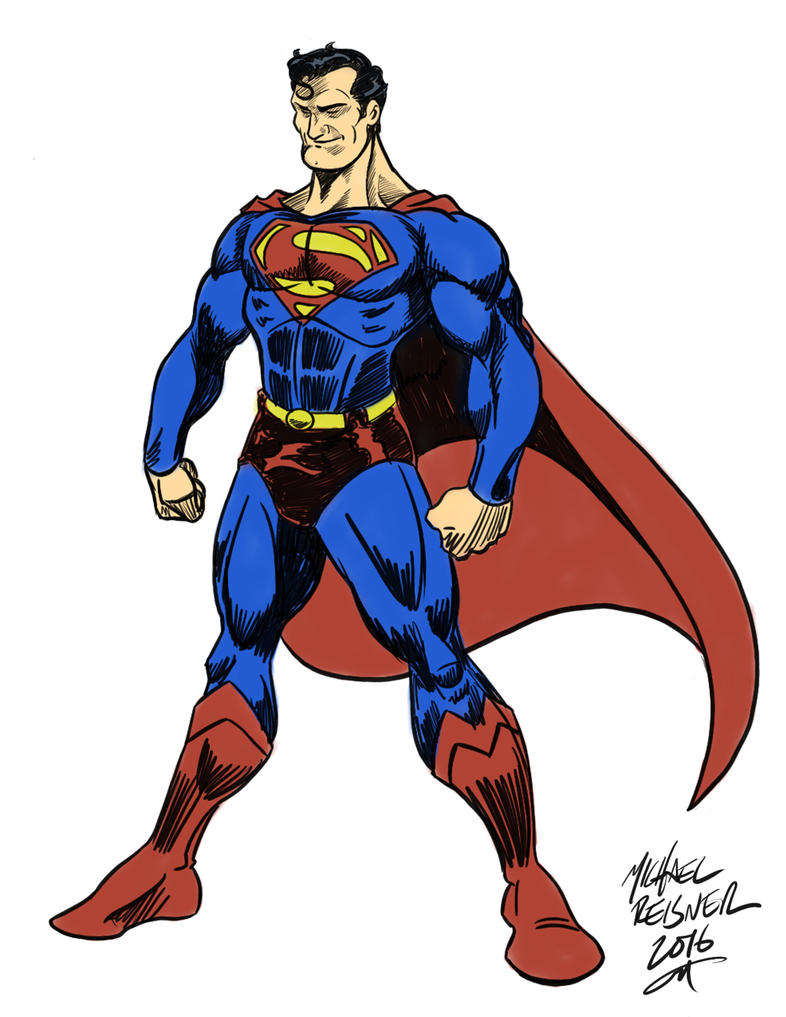 Superman 1938 by mikereisner