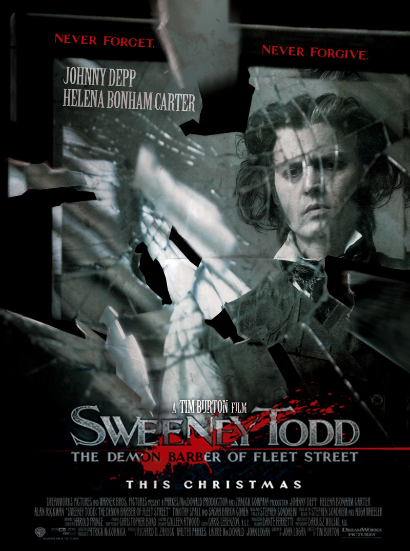 sweeney todd poster mirror by l30 on deviantart