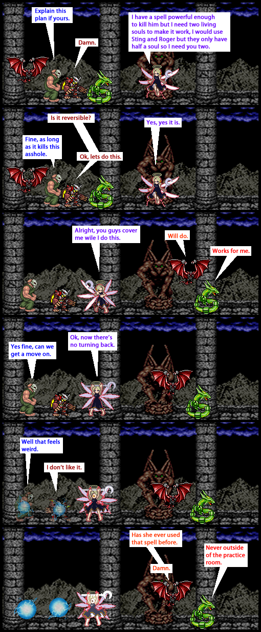 Invasion of the Bloodsuckers 14 by Sting-raptor