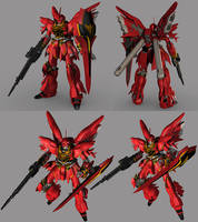 MSN-06S Sinanju by QUICKMASTER
