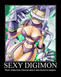 Sexy Digimon by WiddleWade