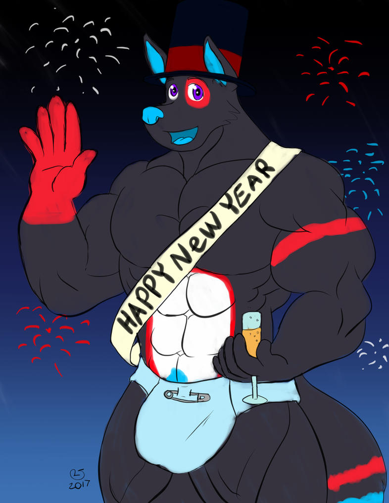 Happy New Year 2018 by kyledawolf