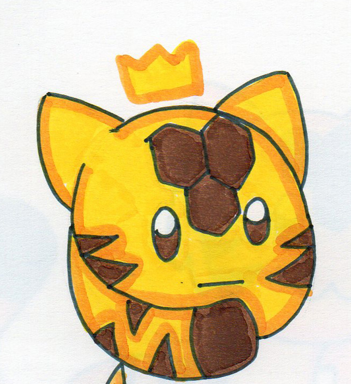 Grumpy Little Queen by HappyQuacks
