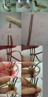 DIY - Samurai Sandals for BJD
