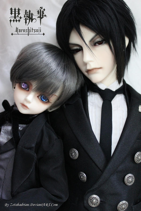Ciel and Sebastian - a