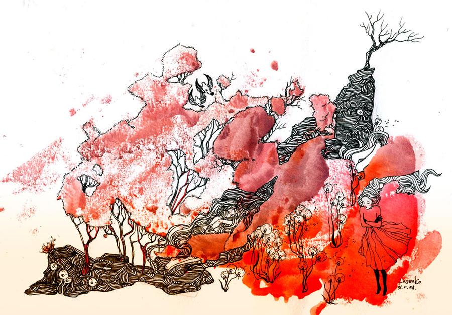 - Dandelions - by Losenko