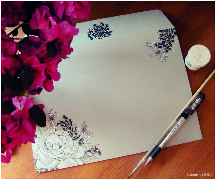 - Envelope - by Losenko
