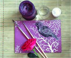 - Postal starling - by Losenko