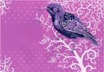 - Violet postal starling -