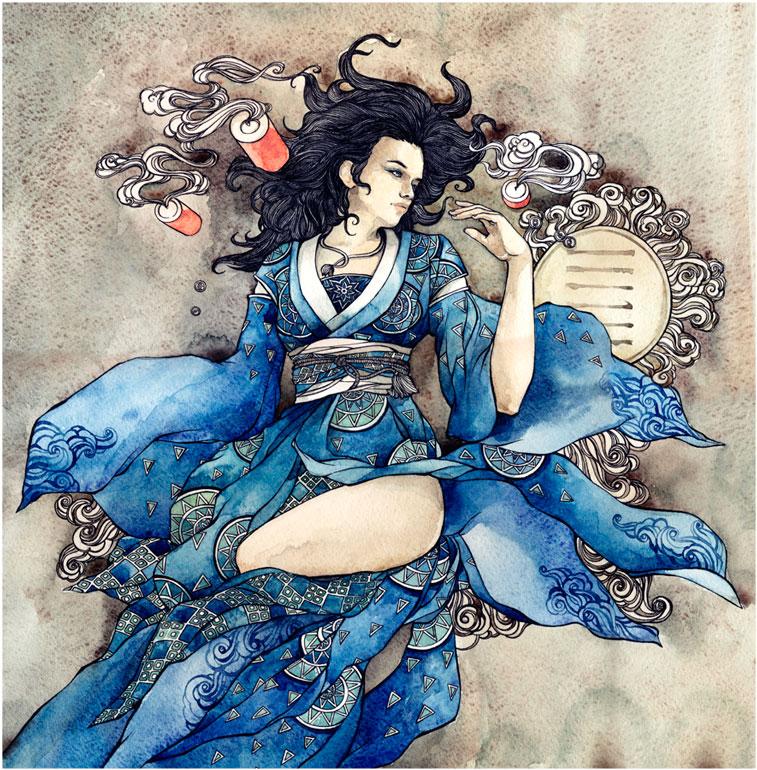 - Hexagram Qian - by Losenko