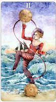 - Two of Pentacles -