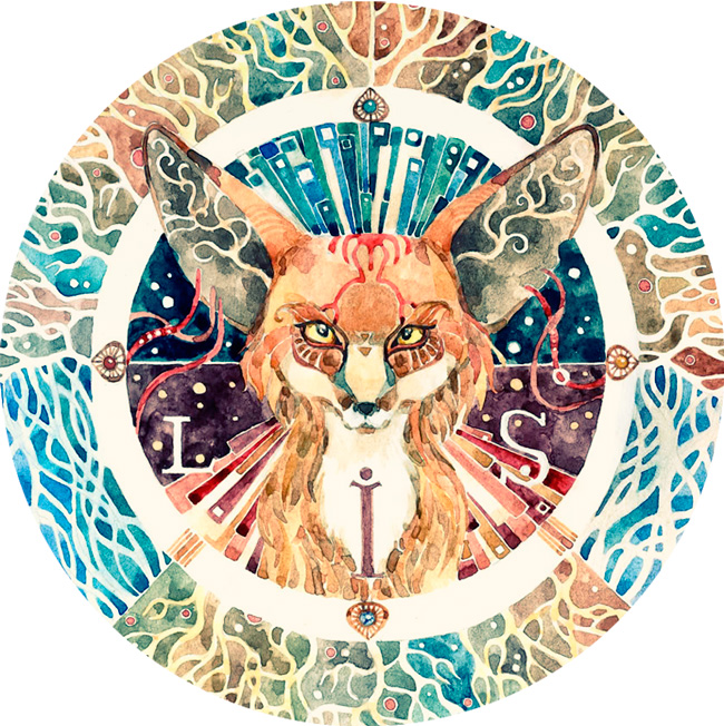 - Totem fox - by Losenko