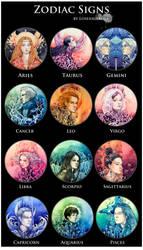 - Zodiac Signs -