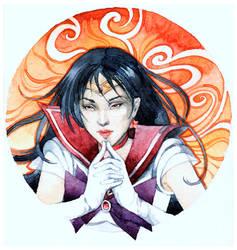 - Art Trade - Sailor Mars -
