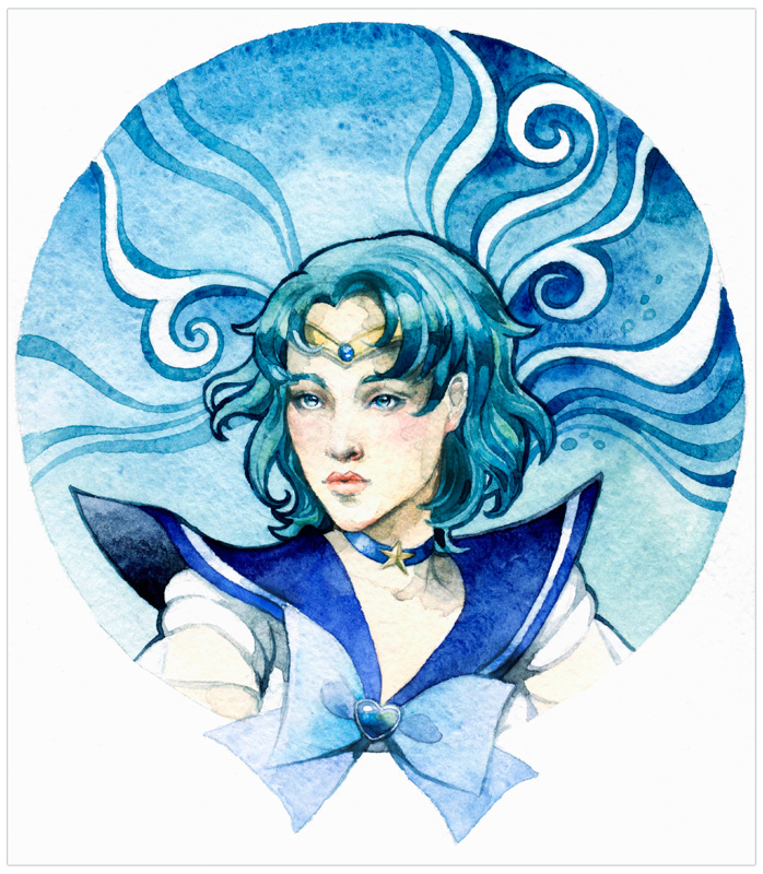 - Sailor Mercury - by Losenko