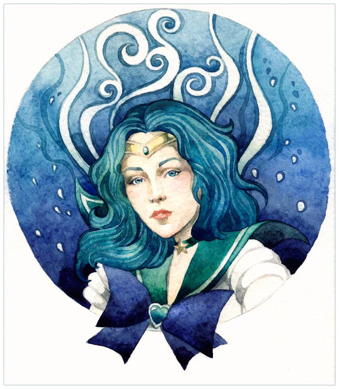 - Sailor Neptune - by Losenko