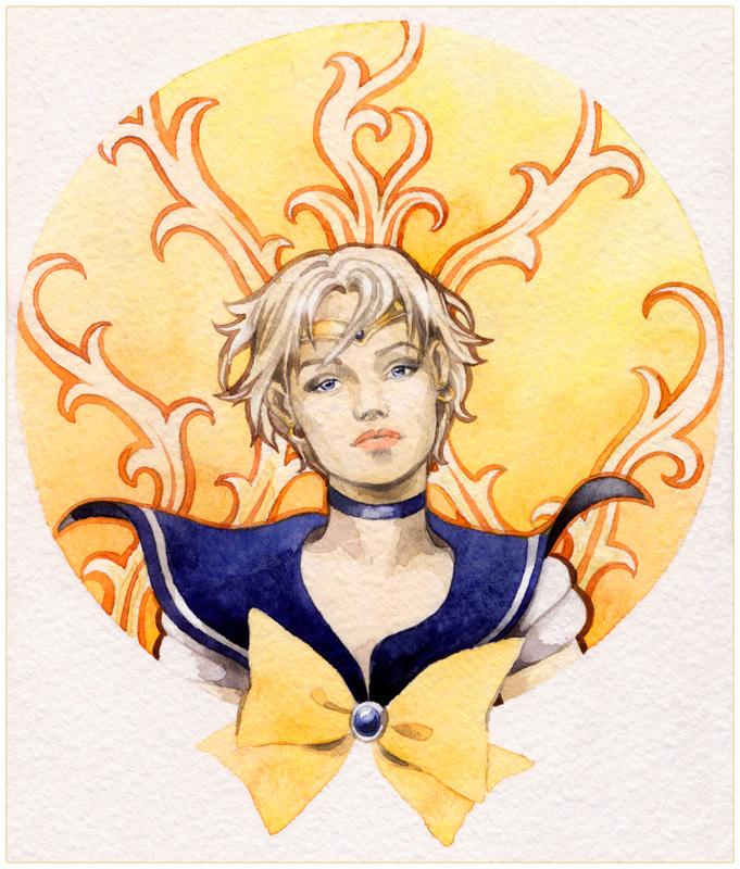 - Sailor Uranus - by Losenko