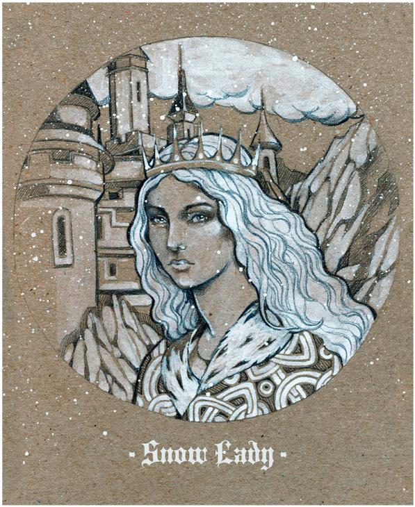 - Snow Lady - by Losenko