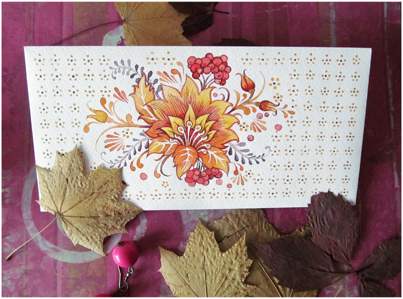 - Envelope - Russian autumn - by Losenko