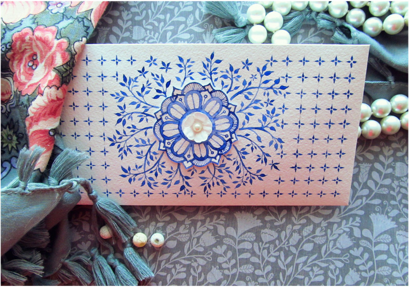 - Envelope - Frosty pattern - by Losenko
