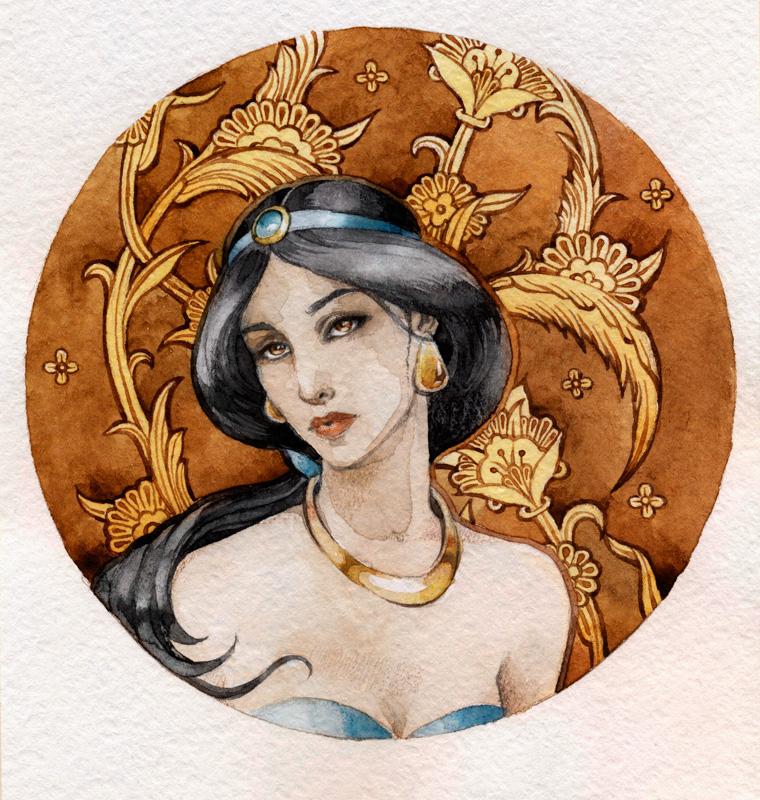 - Princess Jasmine - by Losenko