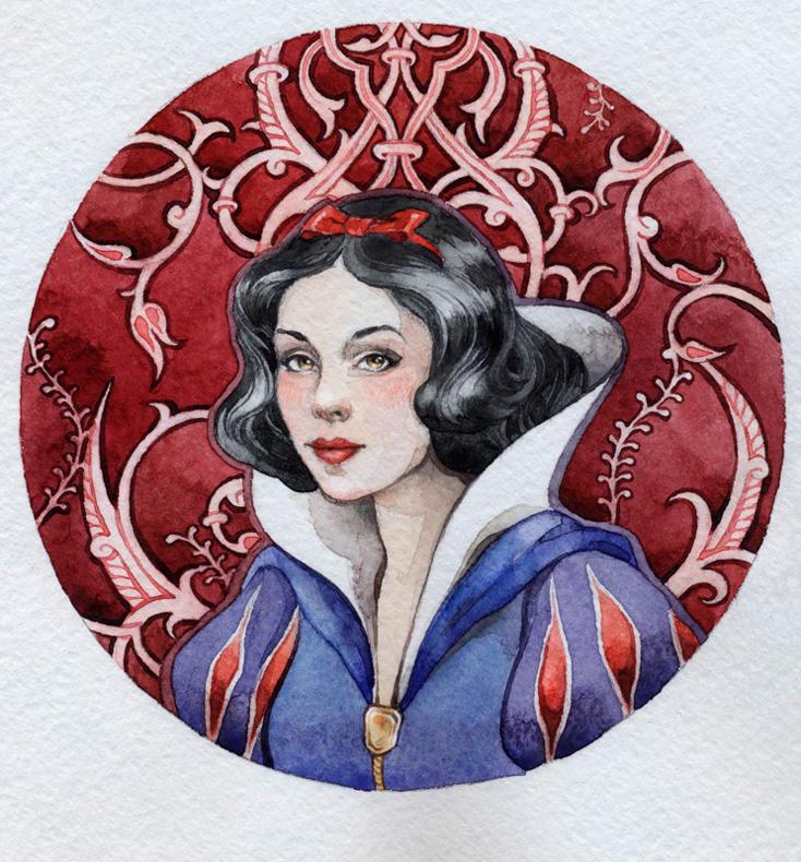 - Snow white - by Losenko