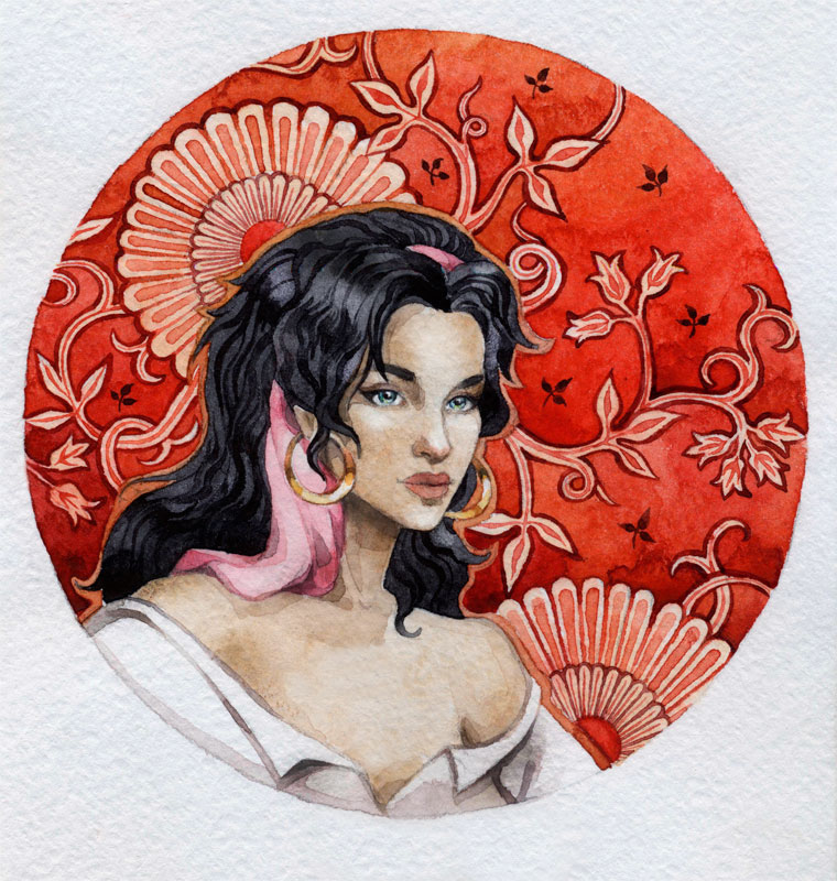 - Esmeralda - by Losenko