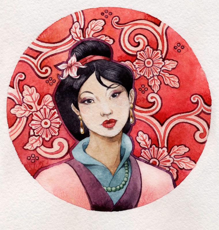 - Mulan - by Losenko
