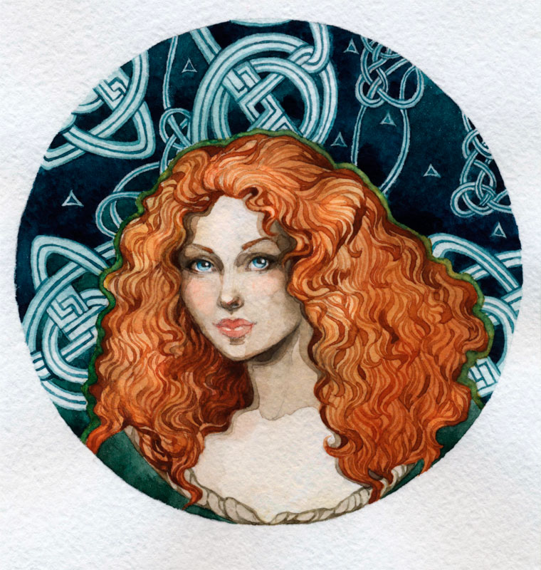- Merida - by Losenko