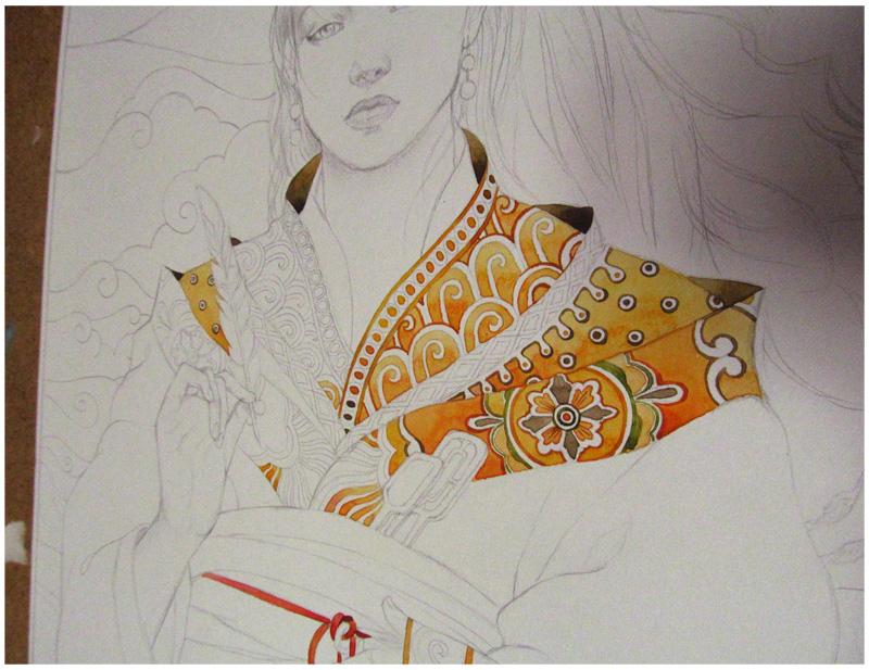 - Yellow Kimono Copy - by Losenko