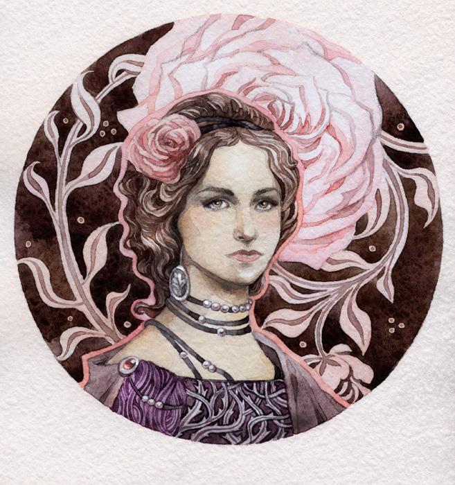 - Commission - Rebecca - by Losenko