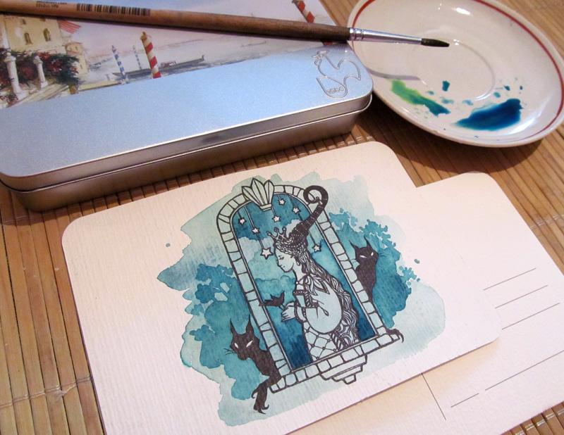- Postcard - by Losenko