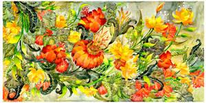 - Water bouquet -