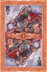 - Slavic cards - Perun (color) -