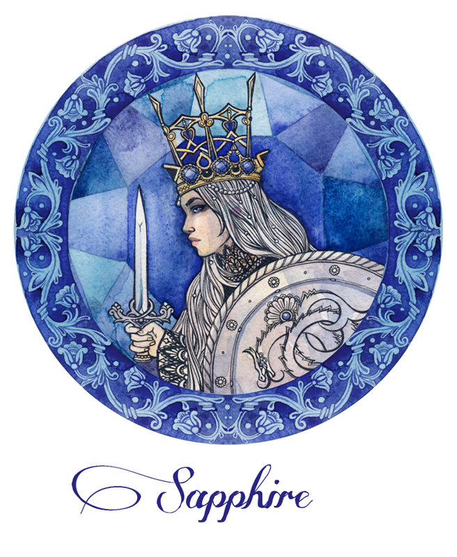 - Sapphire - by Losenko