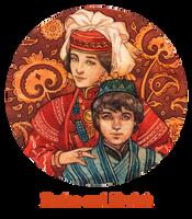 - Commission - Amira and Karluk - by Losenko