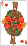 - Queen of Hearts (color) -