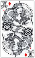 - Slavic goddess - Lada - by Losenko