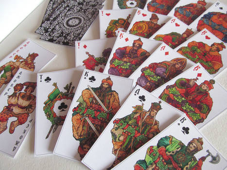 - Russian deck from Losenko -