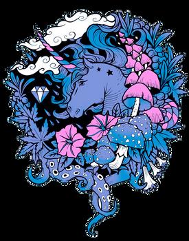 - Print - Magical Unicorn -