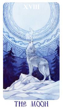 - Arcanum XVIII (18) - The Moon -