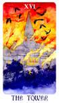 - Arcanum XVI (16) - The Tower -