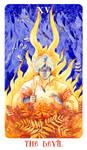- Arcanum XV (15) - The Devil -