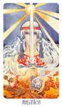 - Arcanum XI (11) - Justice -