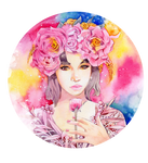 - Commission - Peony crown -